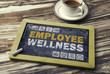 canvas print picture - employee wellness concept