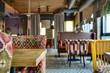 Mexican restaurant's interior