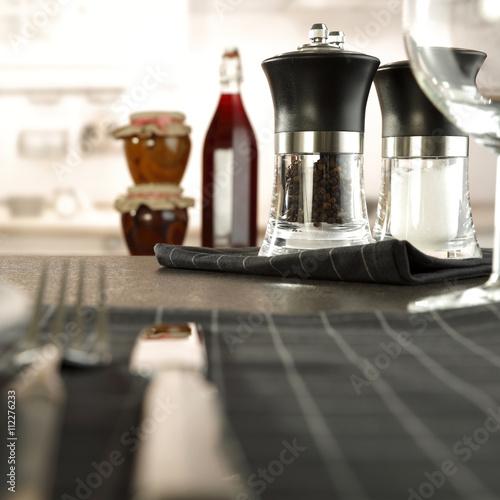 Foto op Aluminium Milkshake kitchen