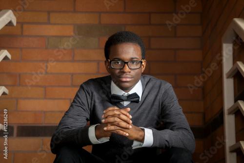 Fényképezés  Confident African American Teen