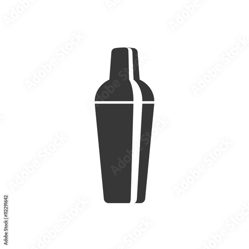Canvas Print cocktail shaker icon