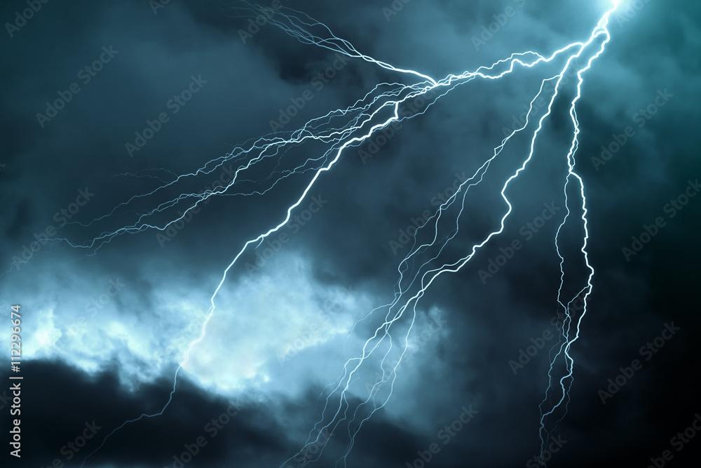Fototapeta Lightning