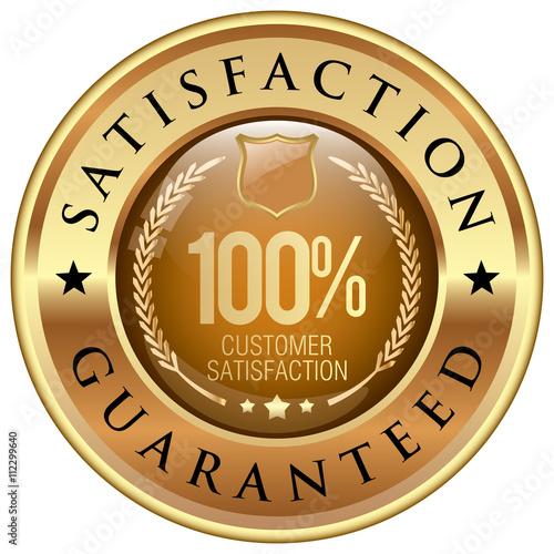 Fotografía  satisfaction guarantee icon