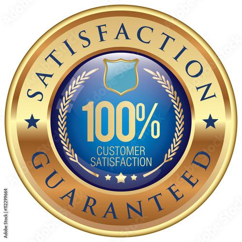 Fotografía  satisfaction guaranteed icon