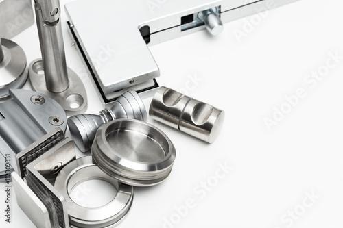 Fototapeta Doors and accessories - Industrial obraz na płótnie