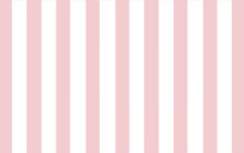 Pink And White Stripe Wallpape...