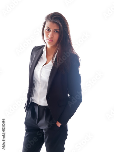 Teen Girl Wearing A Pant Suit Buy This Stock Photo And Explore Similar Images At Adobe Stock Adobe Stock