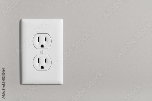 Electric Outlet Wallpaper Mural