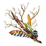 Watercolor Tiger lily - 112318078