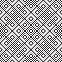 FototapetaVector geometric seamless diamonds pattern