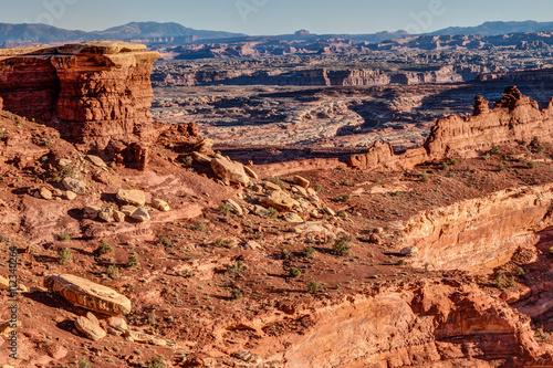 Fotografía  Whitecrack area- White Rim Road- Canyonlands National Park- Island in the Sky- Utah