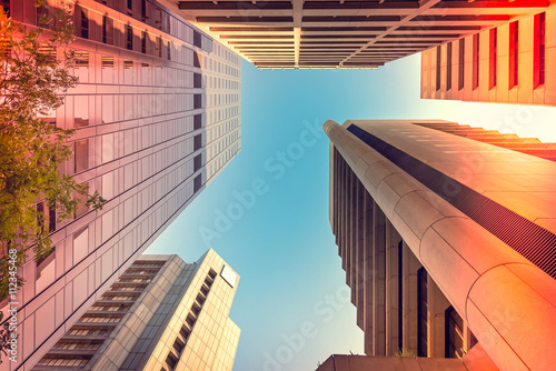 Adelaide abstract architecture viewing upwards Canvas Print