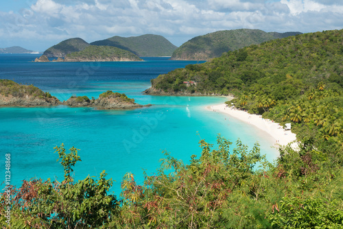 Foto op Plexiglas Caraïben Trunk Bay, St. John