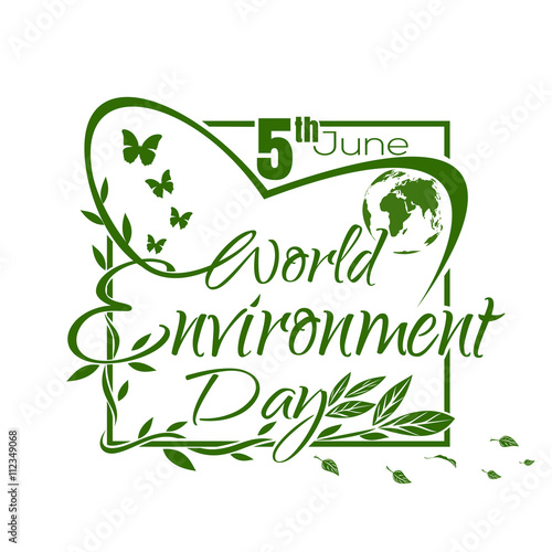 World Environment Day Green Lettering Design Isolated On White Background Poster Cover Card Print Design Environment Day Vector Illustration Buy This Stock Vector And Explore Similar Vectors At Adobe Stock,Shoulder 3d Butterfly Tattoo Designs
