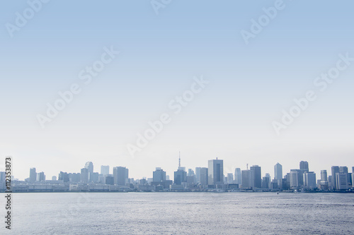 Foto op Canvas Stad gebouw seaside city panorama