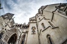 The Facade Of The Royal Courts...