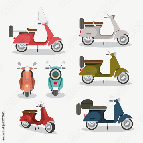 Photo  scooter style design