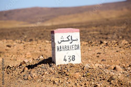 Poster Tunesië le Maroc