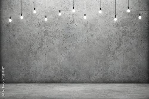 cementowa-sciana-i-lampki