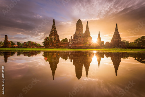 Photo  Ancient Temples in Thailand