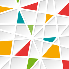 FototapetaGeometric Abstract colorful Background