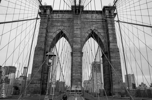 Poster Bridges Pont de Brooklyn New York