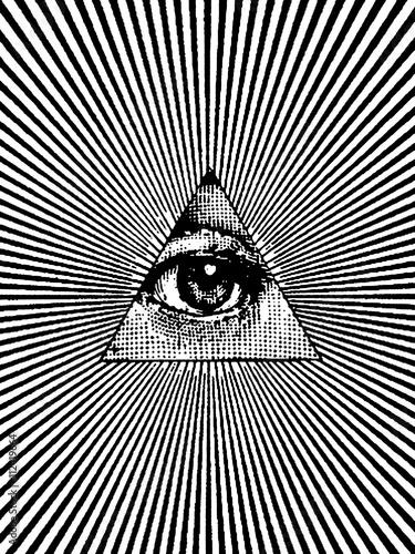 Fotografia, Obraz  Eye of Providence