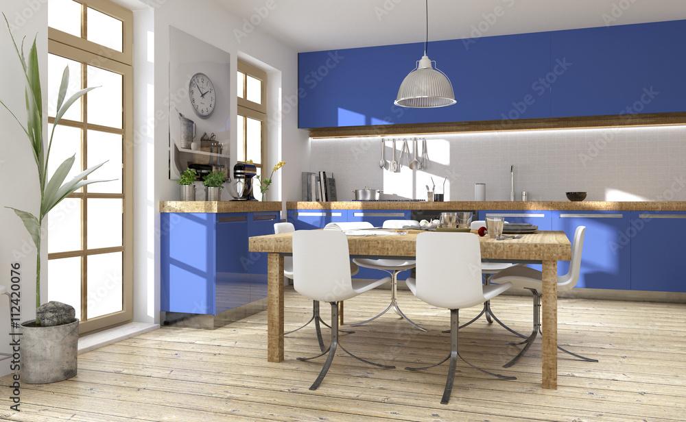 Fototapeten Einbauküche Küchenplanung Küche Küchenzeile ...