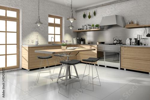 Modern Landhauskuche Kuche Country Style Holzkuche Buy This Stock