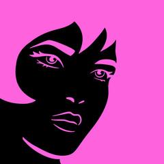 Fototapeta Do pokoju młodzieżowego Pink Woman