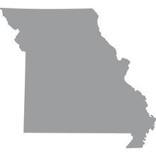 U.S. State Of Missouri Vector