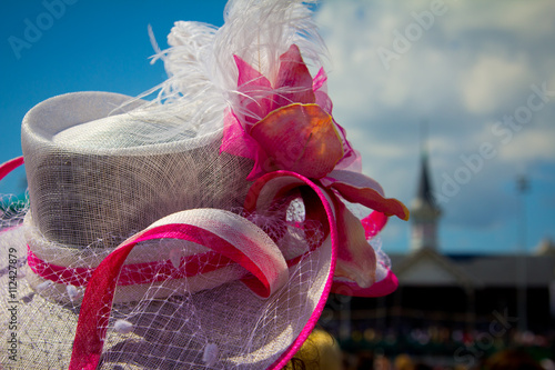 Canvas Print Kentucky Derby Hat
