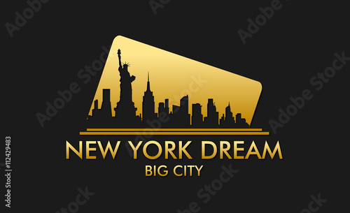 New York Dream Vector Design