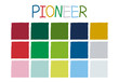 Pioneer Color Tone without Code Vector Illustration