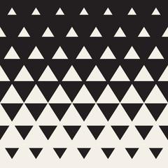 NaklejkaVector Seamless Triangle Halftone Gradient Pattern