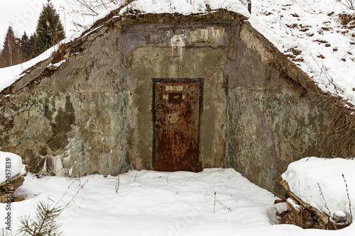 Photo  Nuclear bunker