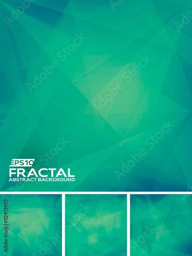 Valokuvatapetti Fractal Abstract Background