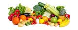 Gesundes Gemüse als Panorama Hintergrund