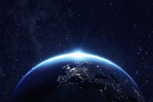 Planet Earth. Some Elements Of This Image Furnished By NASA