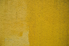 Concrete Wall Light Yellow Background For Designer