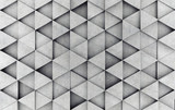 Concrete prism as a background. 3D rendering - 112476890