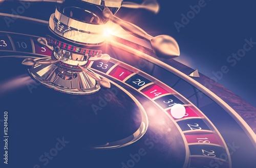Casino Roulette Game плакат