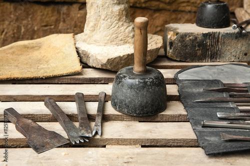 Bildhauerwerkzeug