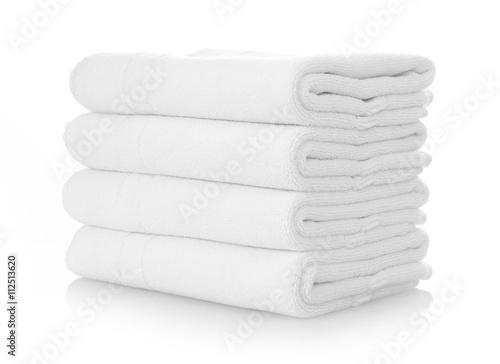 Fotografia  Clean white towels