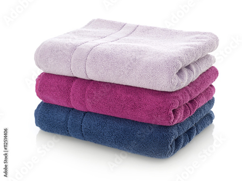 Fotomural Towels stack