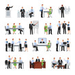 Business Conference Icons Set