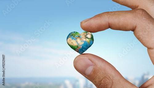 Photo  With care to our planet