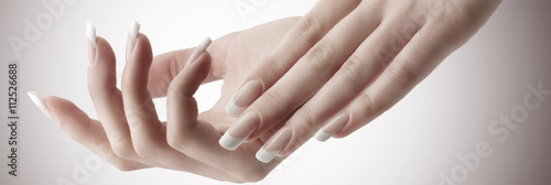 Canvas Print Nail design