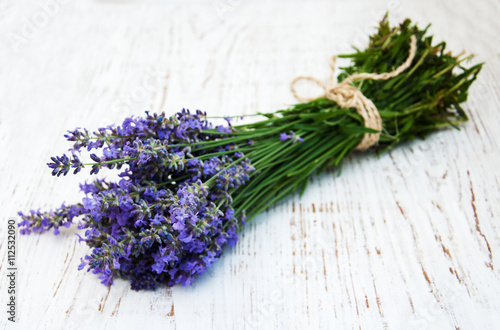 Photo  bunch of lavender