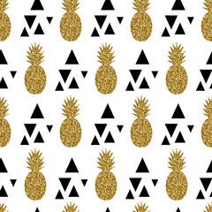 FototapetaSeamless Pineapples Pattern